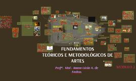 FUNDAMENTOS METODOLÓGICOS DE ARTES