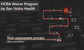 Post-assessment process
