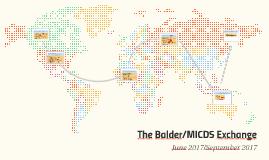 The Balder/MICDS Exchange