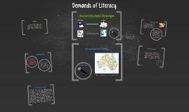 Demands of Literacy
