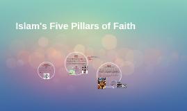 Islam's Five Pillars of Faith