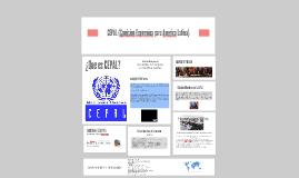 Copy of CEPAL (Comision Economica para America Latina)