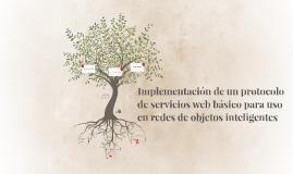 Implementación de un protocolo de servicios web básico para