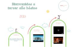 Bienvenidos a Tercero Básico 2015
