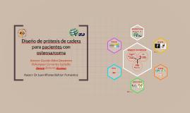 Copy of Diseño de protipo de prótesis de cadera para pacientes con osteosarcoma