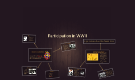 Participation in WWII