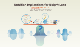 Nutrition Implications for Weight Loss