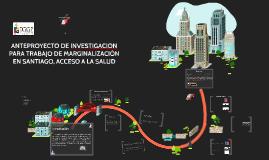 ANTEPROYECTO DE INVESTIGACION, MARGINALIZACIÓN