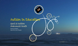 Autism in Education