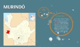 PLAN DE DESARROLLO TERRITORIAL MURINDO