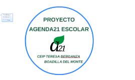 AGENDA21 ESCOLAR