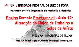 MEC008 - SISTEMAS FLUIDO MECÂNICOS - AULA 12