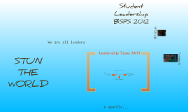 Student Leadership at BSPS 2012