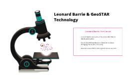 Leonard Barrie & GeoSTAR Technology