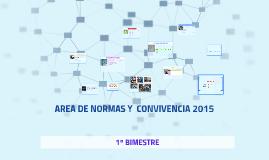 AREA DE NORMAS  Y  CONVIVENCIA 2015