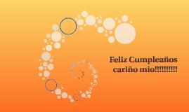 Copy of Feliz Cumpleaños cariño mio!!!!!!!!!!