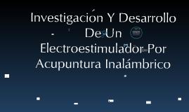 Electroestimulacion por Acupuntura