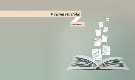 Copy of Copy of Writing Portfolio