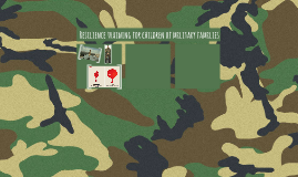 Resilience training for children of military families