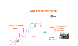 who broke the tests? (DevOpsDays, 2013)