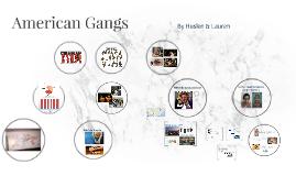American Gangs