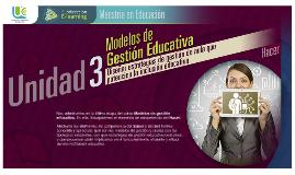 Modelo de Gestion Educativa. EC3