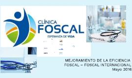 MEJORAMIENTO DE LA EFICIENCIA FOSCAL