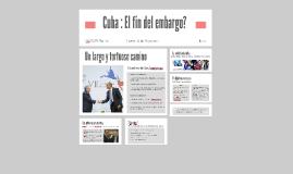 Cuba : El fin del embargo?