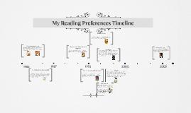 My Reading Preferences Timeline