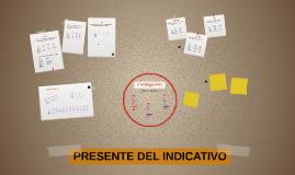 Copy of PRESENTE DEL INDICATIVO