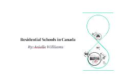 Copy of Residential Schools in Canada