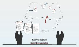 La evaluación psicopedagógica