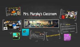 Re12 Mrs. Murphy's Classroom