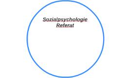 Sozialpsychologie Referat