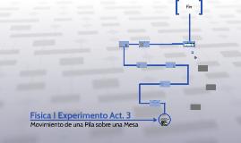 Física I Experimento Act. 3