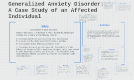 Case studies anxiety disorders