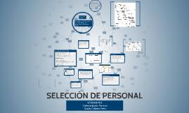 SELECCIÒN DE PERSONAL