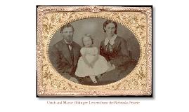 Copy of Nebraska Homesteaders: Uriah and Mattie Oblinger