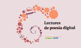 Lectures de poesia digital