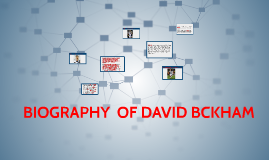 BIOGRAPHY  OF DAVID BCKHAM