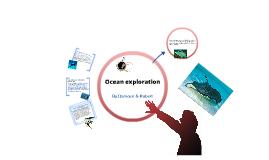Ocean exlporation