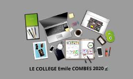 COLLEGE EMILE COMBES 2015