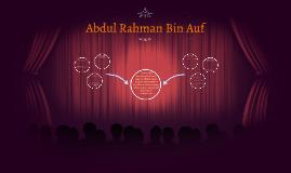 Abdul Rahman Bin Auf