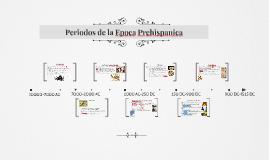 Periodos de la Historia de Mesoamerica