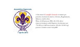 Assemblea regionale 7 aprile 2013