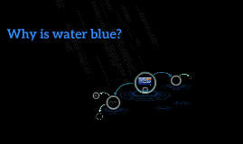 Why is water blue?