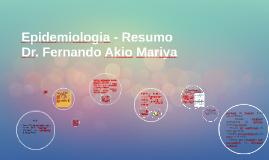 Epidemiologia - Resumo