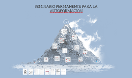2. SEMINARIO PERMANENTE PARA LA AUTOFORMACION