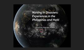 Haiti/Philippines