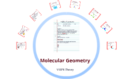 Copy of Molecular Geometry